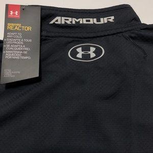Under Armour Shirts - Under Armour ColdGear Reactor 1/4 Zip L/S Shirt Lg